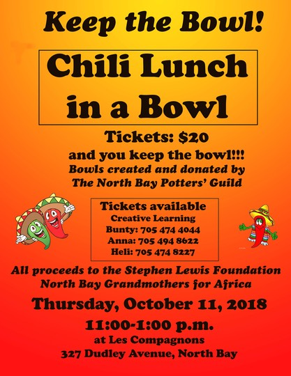Chili Lunch poster numbersE