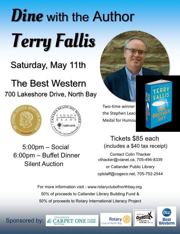 NB 1819 Terry Fallis poster